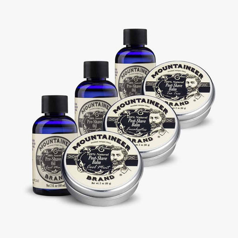 Product Image, Mountaineer Brand Pre-Shave Oil & Post-Shave Balm Variety Pack