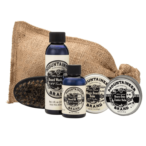 Premium Timber Beard Care Kit - Timber