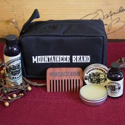 Mountaineer Brand build your own Beard Kit and Dopp Kitt/Travel Bag