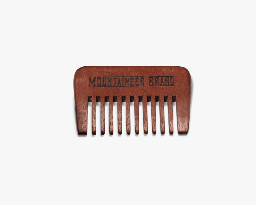 Cactus Bristle Brush and Comb Combination (Cruelty Free)