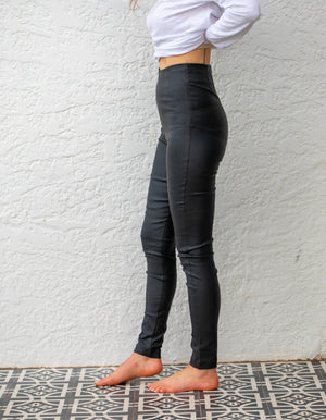 Wax On fitted jeans in Black