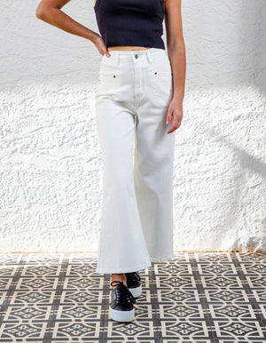 Mitchell denim jeans in White