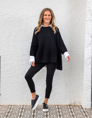 Neptune jumper in Black