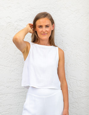 Rori top in White
