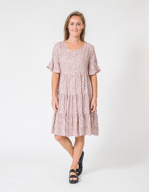 Rumi dress in Blush
