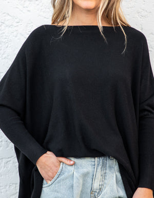 Willow jumper in Black