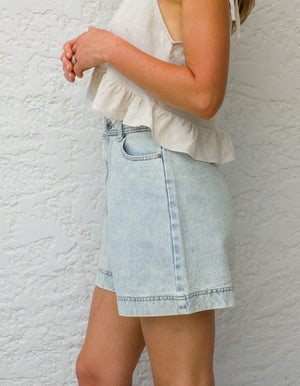 Charlie denim shorts ion Blue wash