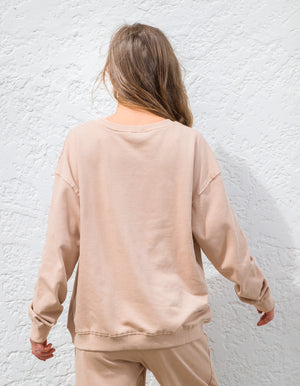 The Sophie sweater in Beige