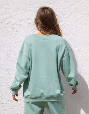 The Sophie sweater in Sage