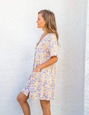 Montana floral dress in Multi