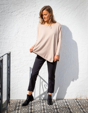 Cloud Nine knit jumper in Beige