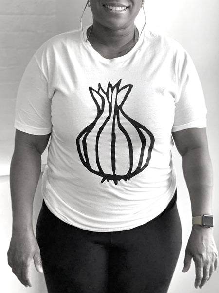 onion logo t-shirt
