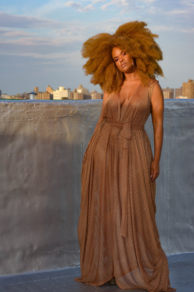 golden hour mesh drape