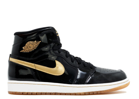 Air Jordan Retro 1 Black/Gold OG