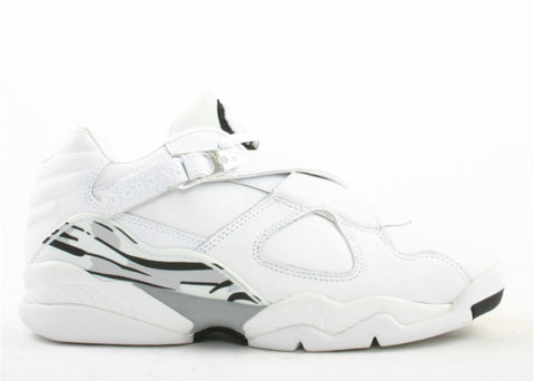 Air Jordan Retro 8 Low White Chrome