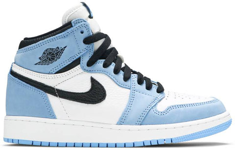 Jordan 1 Retro High White University Blue Black (GS)