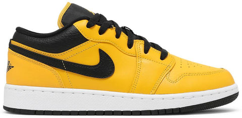 Air Jordan 1 Low GS University Gold Black