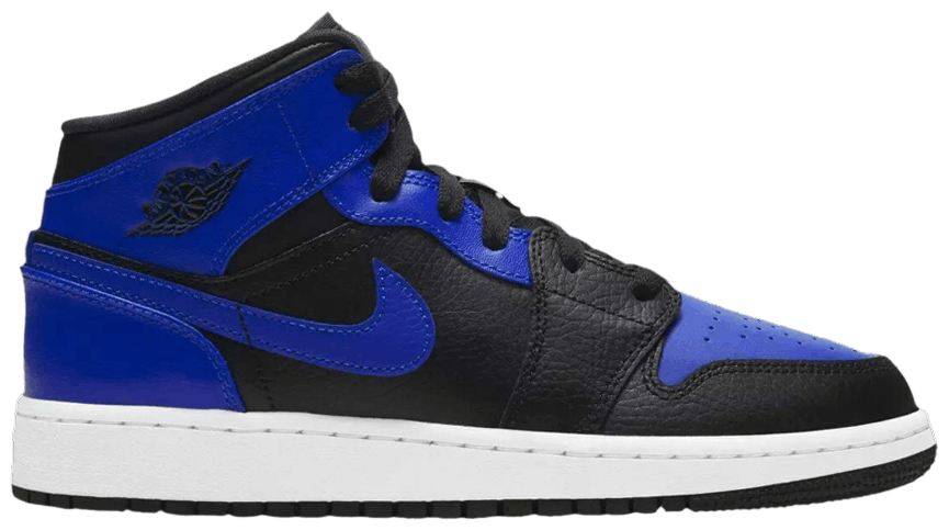 Air Jordan 1 Mid GS Hyper Royal