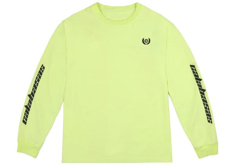 adidas Yeezy Calabasas Long Sleeves Tee Frozen Yellow