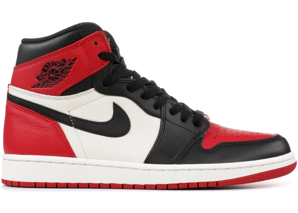 Air Jordan Retro 1 Bred Toe