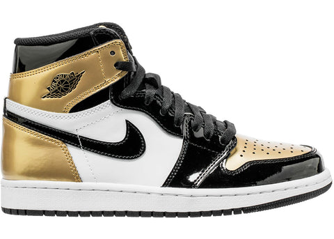 Air Jordan Retro 1 Gold Toe