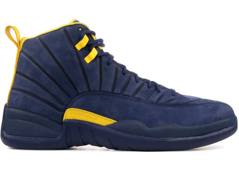 Air Jordan Retro 12 PSNY Michigan PE