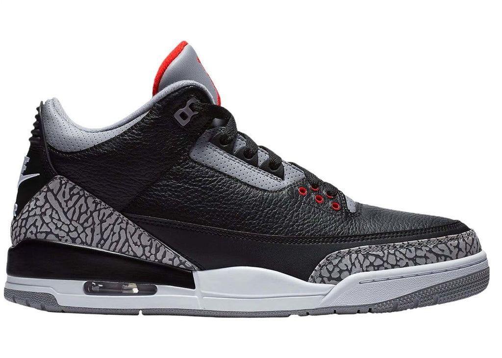 Air Jordan Retro 3 Black Cement 2018