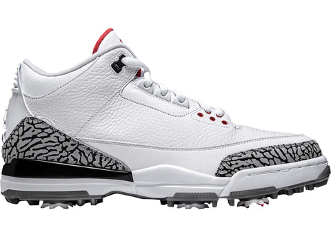 Air Jordan Retro 3 Golf White Cement