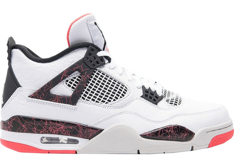 Air Jordan 4 Retro White Black Bright Crimson