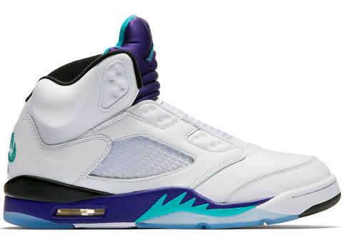 Air Jordan Retro 5 Grape Fresh Prince of Bel Air