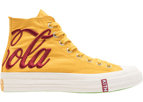 Converse Chuck Taylor All-Star 70s Hi Kith x Coca Cola Yellow