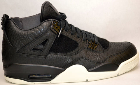 Air Jordan 4 Retro Pony Hair Black