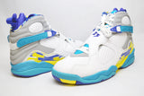 Air Jordan Retro 8 Womens Aqua