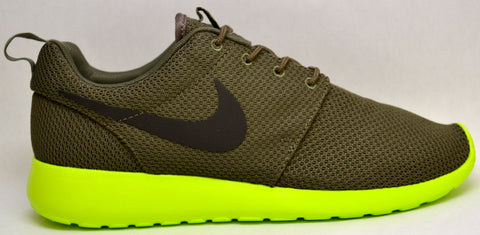 Nike Roshe Run Tarp Green