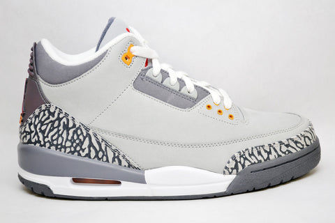 Air Jordan Retro 3 Cool Grey