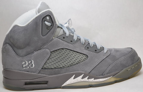Air Jordan Retro 5 Wolf Grey Preowned