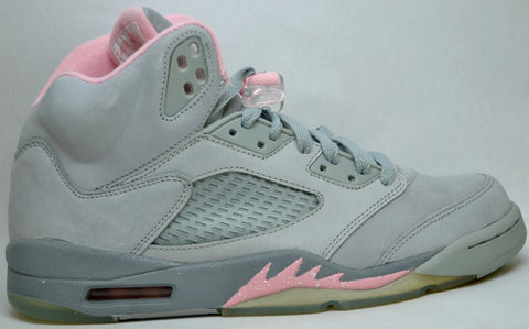 Air Jordan Retro 5 Grey/Pink Womens