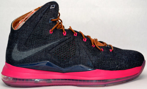 "Lebron X EXT ""Denim"""