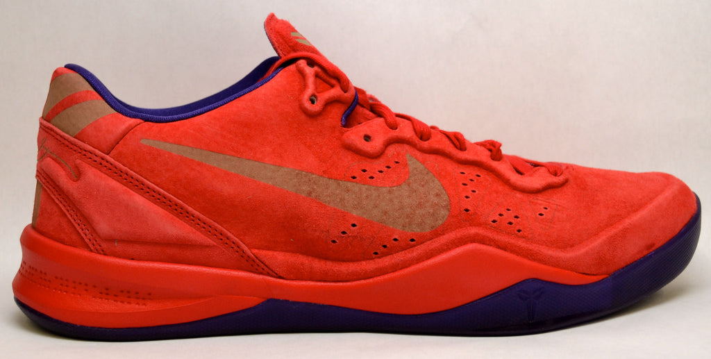 "Nike Kobe 8 Ext ""Red Suede"""