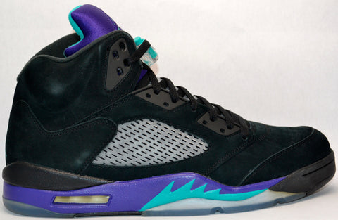 "Air Jordan Retro 5 ""Black Grape"""