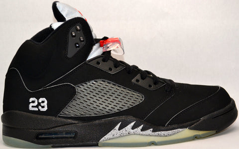 Air Jordan Retro 5 Black Metallic
