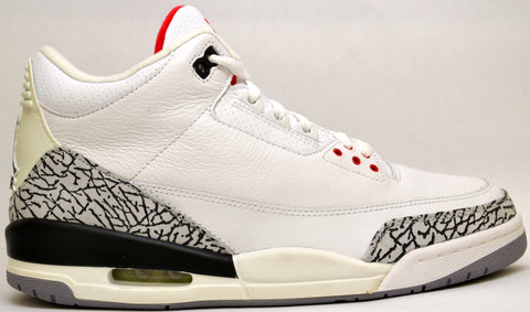 Air Jordan 3 Wht/Cement 2003