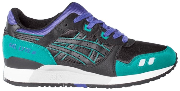 ASICS Gel Lyte 3 Black Emerald