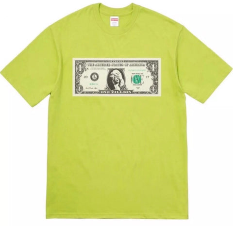 Supreme Dollar Bill shirt