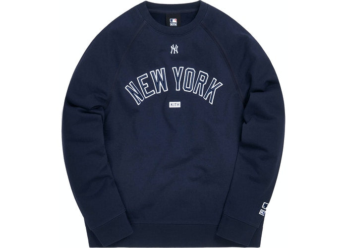 Kith Major League Baseball New York Yankees Crewneck Navy