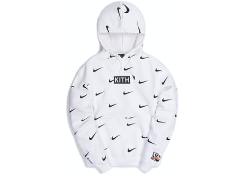 Kith & Nike for New York Knicks AOP Hoodie White