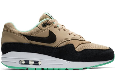 Air Max 1 Desert Black Green Glow (W)