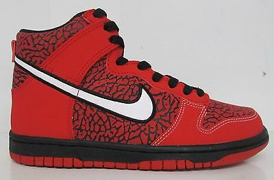 Nike Dunk High (GS) University Red