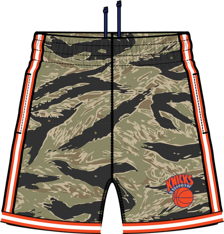 Mitchell & Ness New York Knicks Tiger Camo Swingman Short