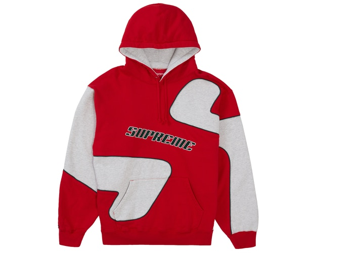 Supreme Big S Hooded Sweatshirt Red
